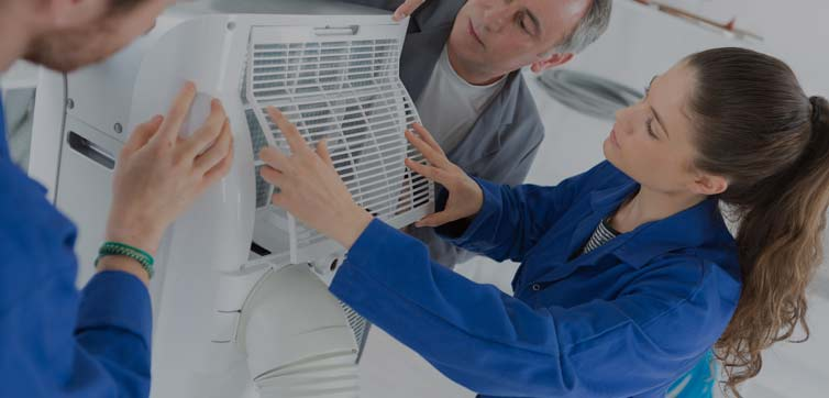 Air Pollution from Dirty HVAC System