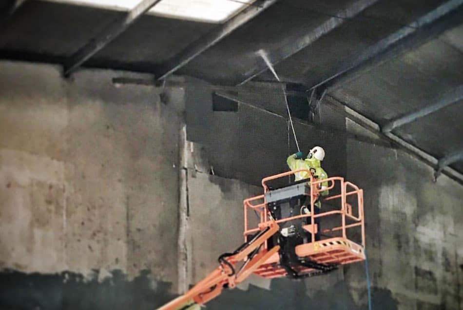 High Ceiling Cleaning1