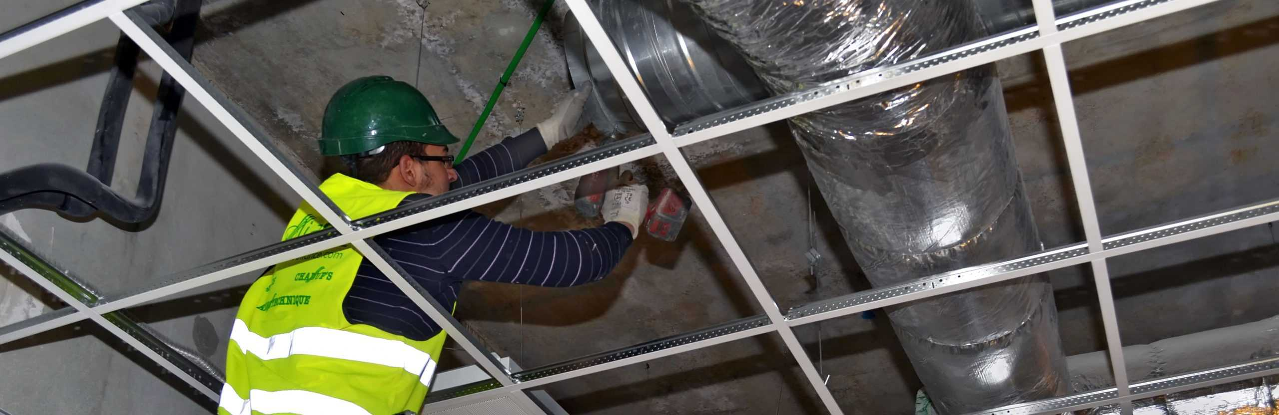 Commercial & Industrial HVAC Cleaning – 2